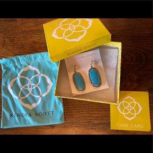 Kendra Scott Statement Earrings -Turquoise